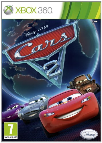 Cars 2 [Spanisch Import] - 2 Spiel Cars 360 Xbox