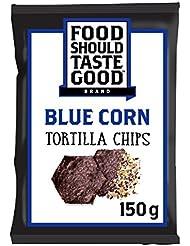Food Should Taste Good Blue Corn Tortilla Chips, 150 g