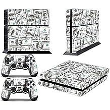 Juego de skins para PS4 y dos mandos, diseño de Ballin [PlayStation 4]