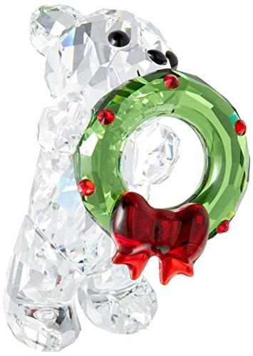 Swarovski Kris Bär - Weihnachten Figur, Kristall, Mehrfarbig, 4 x 2.6 x 3.6 cm