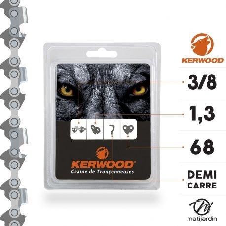 Kerwood 'Kette 68Fitness Trainer Warten 1,3mm .3/8, Kettensäge