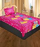 Renown Barbie Kids Print Single Bed 100%...