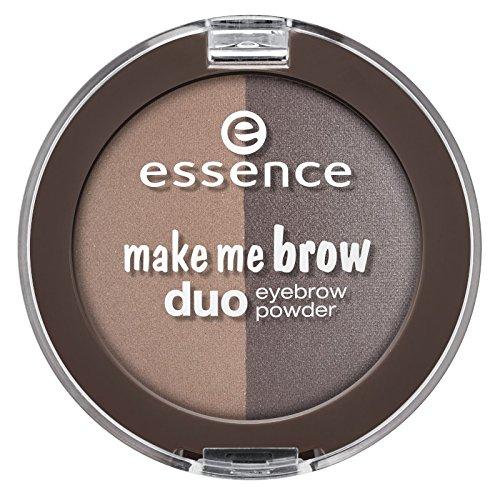 essence - Augenbrauenpuder - make me brow duo eyebrow powder - 02 mix it brunette