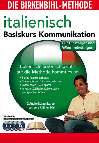 Audio-Sprachkurs Birkenbihl Italienisch Basiskurs Kommunikation