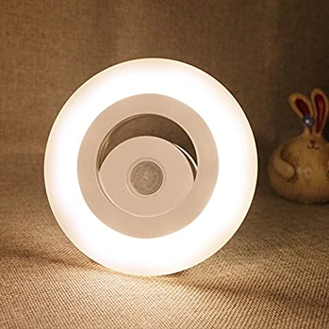 Forepin® Lumière de Nuit Intelligente Veilleuse Detecteur de Mouvement Pour Chambre Salon Enfants