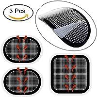 Flyword Ersatz-Elektroden-Pads für Bauchgurte der Slendertone Serie, selbstklebend, 3 Stück
