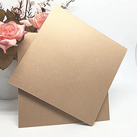 Anself 20Pcs Delicate Invitation Card Inner Sheet Inside Pages for Wedding Party Celebration