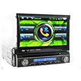 Generic Single DIN Car Dash DVD GPS Navigator System - 7 Inch Touch Screen, DVB-T Digital TV