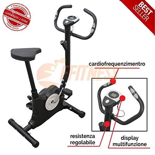 Offerta Cyclette Easy Belt Workout in casa Cardio Gym Fitness Trainer attrezzo Sportivo...