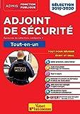 Adjoint de sécurité - Catégorie C - Tout-en-un - Concours 2019-2020