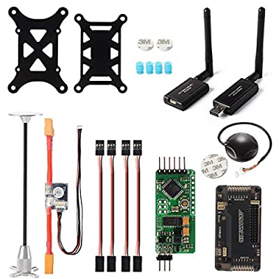 APM2.8 ArduPilot Flight Controller+6M GPS+915Mhz Telemetry+ Power Module RC150 from XCSOURCE