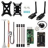 Controlador Vuelo APM2.8 ArduPilot + GPS 6M + Telemetría 915Mhz + Módulo Energía RC150