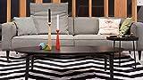 Möbel Akut ROLF Benz Couchtisch 977 Eiche massiv anthrazit Wohnzimmertisch 140 x 70 cm