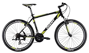 Giant Rincon Ltd Hardtail Mtb Recreation Lifestyle Bicycle, Men's 2017 (Black/Lime Green)