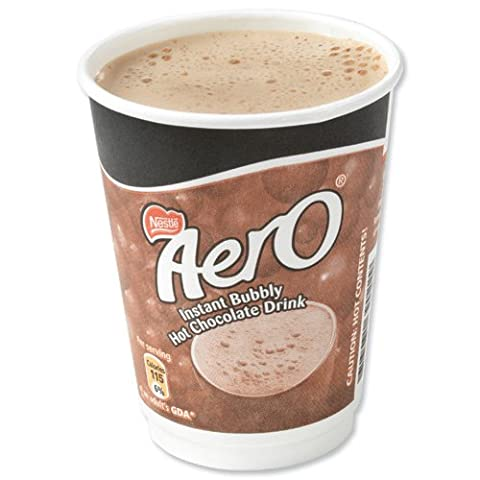 Nescafe & Go Aero Hot Chocolate Foil-sealed Cup for Drinks Machine Ref 12033789 - Pack 8