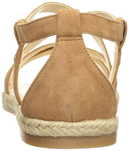 Nine West Vilance Cuir Sandale Natural