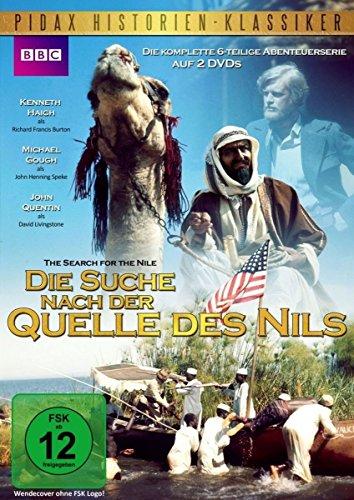 Bild von Die Suche nach der Quelle des Nils (Search for the Nile) - Die komplette 6-teilige Abenteuerserie (Pidax Serien-Klassiker) [2 DVDs]