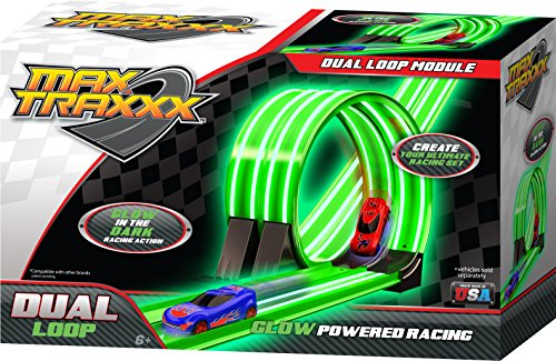 Max Traxxx Tracer Racers Dual Loop Module for Gravity Drive and Remote Control Sets by Max Traxxx (Remote-control Car Und Track)