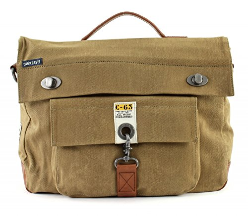 Camp David Old Harbor Sac bandoulière Messenger 37,5 cm compartiment Laptop