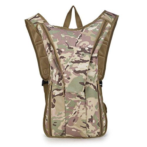 Sporttasche Tasche Outdoor-Rucksack Militärischen Fans Reiten Taschen Rucksack Bergsteigen camouflage