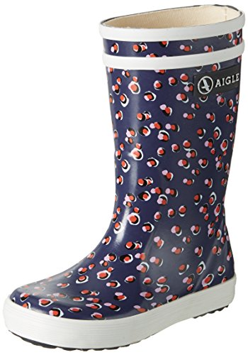 Aigle Unisex-Kinder Lolly Pop Gummistiefel Mehrfarbig (Lolly Pop Kid)