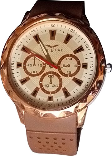 Eagle & Time ARK0012 Stainless Steel Back Power Men Wrist Watch