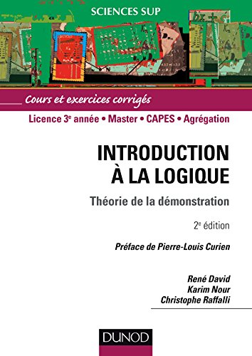 Introduction  la logique : Thorie de la dmonstration - Cours et exercices corrigs
