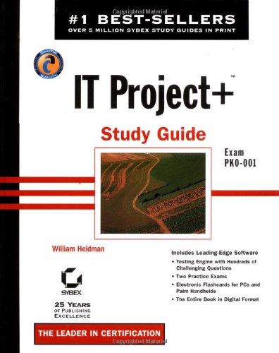 IT Project+ Study Guide por Bill Heldman