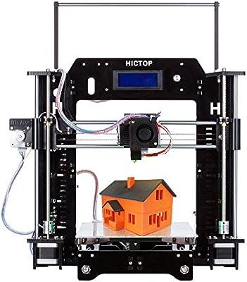 HICTOP 24V Filament Monitor Prusa I3 3D impresora acrílica marco DIY Kit