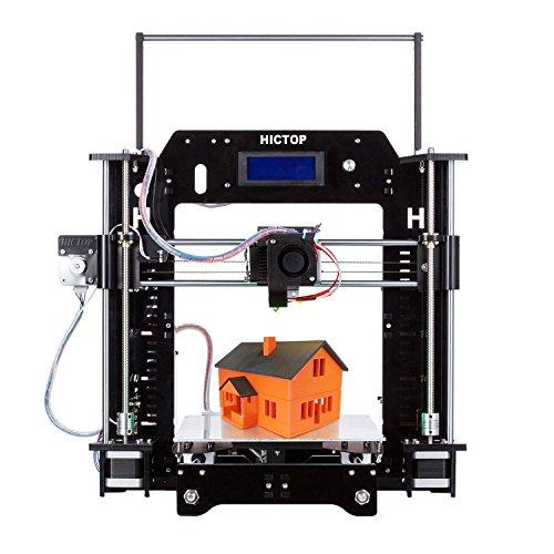 HICTOP 24V Filament-Monitor-Auflage Prusa I3 3D-Drucker Acryl-Rahmen DIY Kit