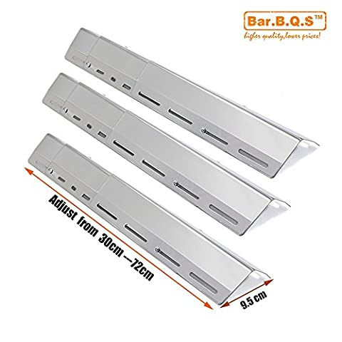 Bar.b.q.s 45629(3pack) Universal BBQ Gas Grill Replacement Stainless Steel Heat