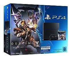 PlayStation 4 - Konsole (500GB) inkl. Destiny: König der Besessenen [CUH-1216A]