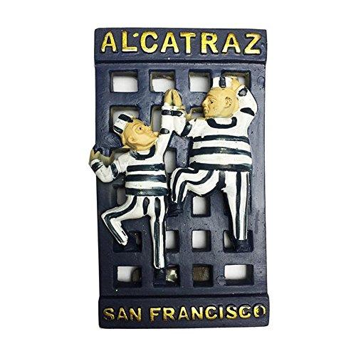 3D Alcatraz Island, San Francisco, Kalifornien USA Souvenir Kühlschrank Magnet , USA Reise Aufkleber, Home & Küche Dekoration Las Vegas Kühlschrank Magnet