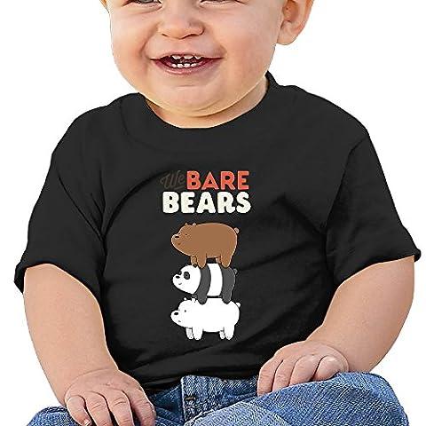 cjunp bébé enfant enfant nous Bare Ours T-shirt pour homme