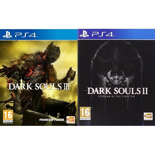 Dark Souls III + Dark Souls II: Scholar Of The First Sin - PlayStation 4