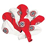 FC Bayern München Luftballons in rot und weiß 10 Stück