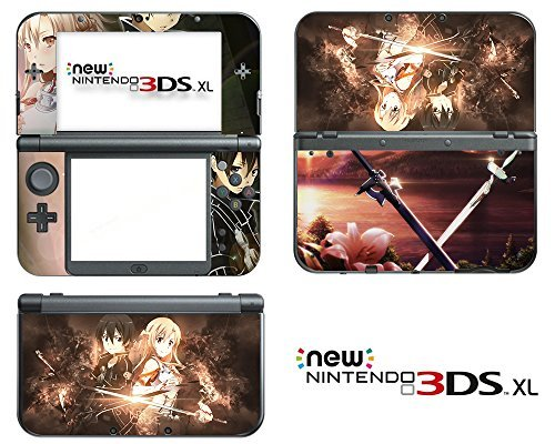 vanknight-vinyl-decals-skin-sticker-anime-sword-art-online-kirito-sao-for-the-new-nintendo-3ds-xl-20