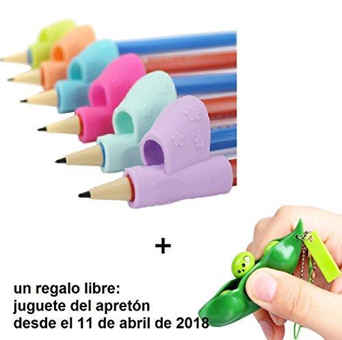 Pencil Grip,, 3 piezas/set los niños Lápiz Soporte pluma escritura ayuda agarre postura corrección herramienta nuevo (una variedad de opcionales)