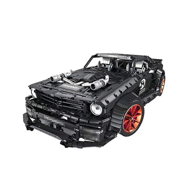 Tosbess Technic Auto Sportiva Ford Mustang, 3168 Pezzi Blocchetti di Costruzione Compatibile con Lego Technic 4 spesavip