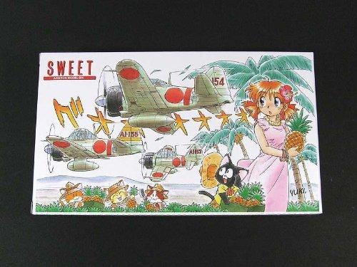 1/144 A6M2b Zero Fighter Akagi Figher Group (Pearl Harbor) (3 planes Set) (Plastic model)