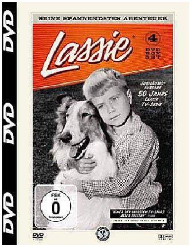 Lassie - Seine spannendsten Abenteuer, 4 DVD-Box, Jubiläumsausgabe 50 Jahre TV-Serie Lassie