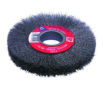 2x Bench Grinder Wire Wheel 32 mm 150mm Bore with metric & imperial reducer adaptors Abrasives &
