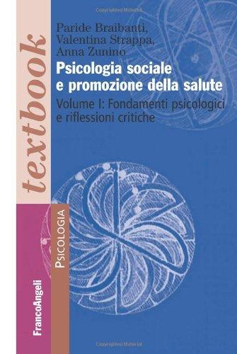 Psicologia sociale e promozione della salute: 1