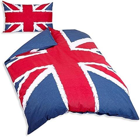 Housse De Couette Union Jack - Just Contempo Parure de lit Coton majoritaire