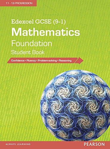 Edexcel GCSE (9-1) Mathematics: Foundation Student Book (Edexcel GCSE Maths 2015)