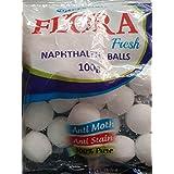 TAJ MAHAL CARAVAN of Mital Chemical Industries 180GM X5 Napthalene Balls - White