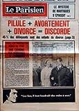 PARISIEN LIBERE (LE) [No 9539] du 29/05/1975 - LE MYSTERE DE MARTIGUES S'EPAISSIT - PILULE + AVORTEMENT + DIVORCE = DISCORDE 45% DES DELINQUANTS SONT DES ENFANTS DU DIVORCE - APRES LORS MOUNTBATTEN NEVEU DU TSAR UNE COUSINE DES ROMANOV A LENINGRAD - LES BUS IL LEUR FAUDRAIT DES VOIES A EUX - PARIS CAPITALE DU FOOTBALL EUROPEEN - 2-0 POUR BAYERN