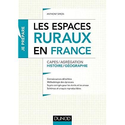 Les espaces ruraux en France - Capes et Agrégation - Histoire-Géographie
