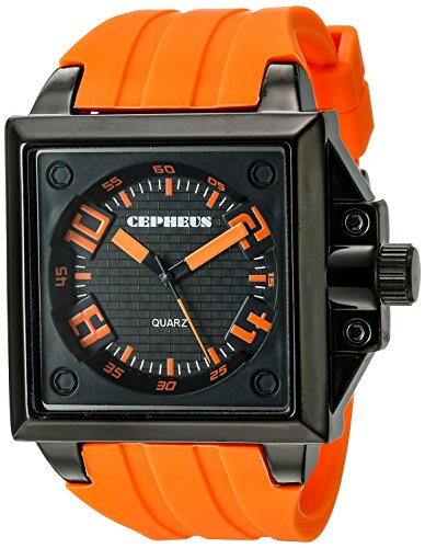CEPHEUS Men's Quartz Watch CP904-629A CP904-629A with Rubber Strap
