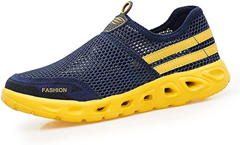 Hasag nuevos Zapatos de Mujer Zapatos de Malla Transpirable Madre de Mediana Edad Zapatos Zapatos Casuales, 43...